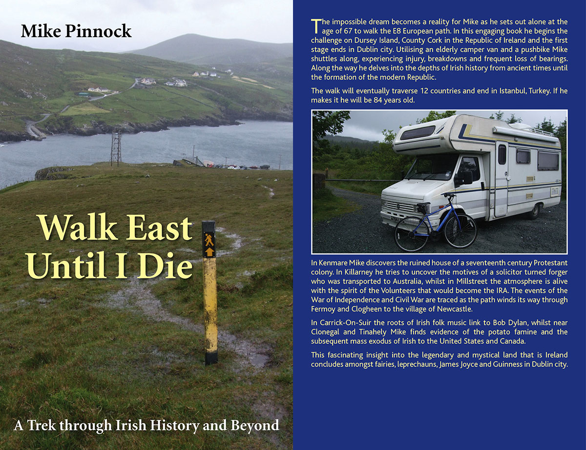 Walk East Until I Die book covers